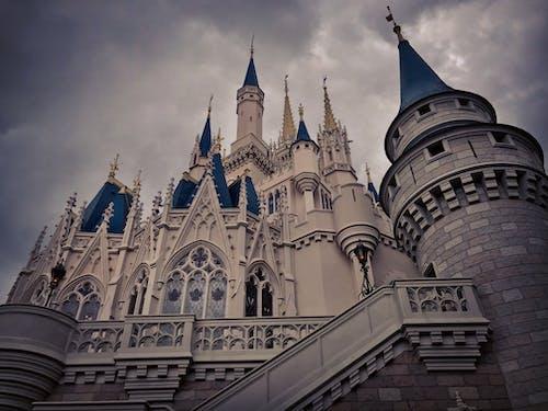 Free stock photo of disney castle, disney world, florida