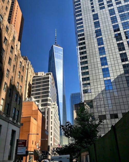 Free stock photo of manhattan, new york city, one world trade center