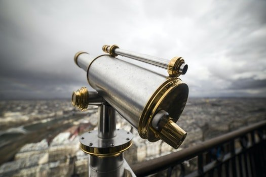 Free stock photo of sky, metal, telescope, technology