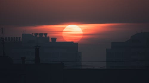 Scenic Photo Of Sun During Dawn