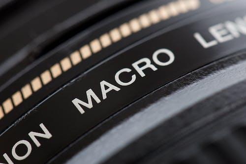 Black Camera Macro Lens