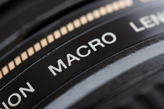 Free stock photo of lens, macro, photography equipment