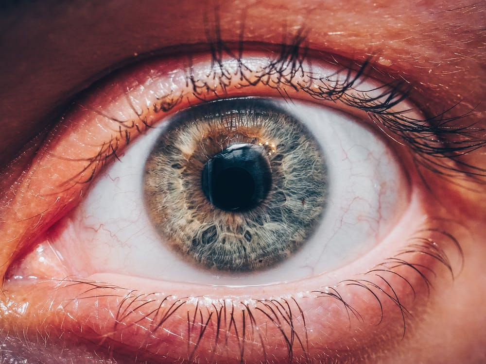 Close-Up Photo Of Eye
