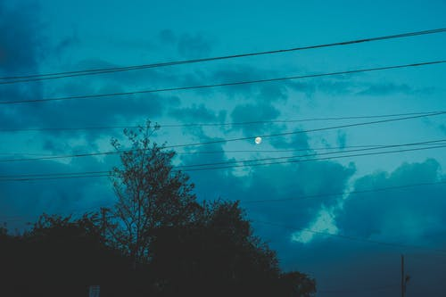 Free stock photo of city night, clouds, dark