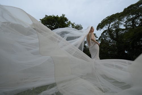 Photo Of Woman Wearing Wedding Dress