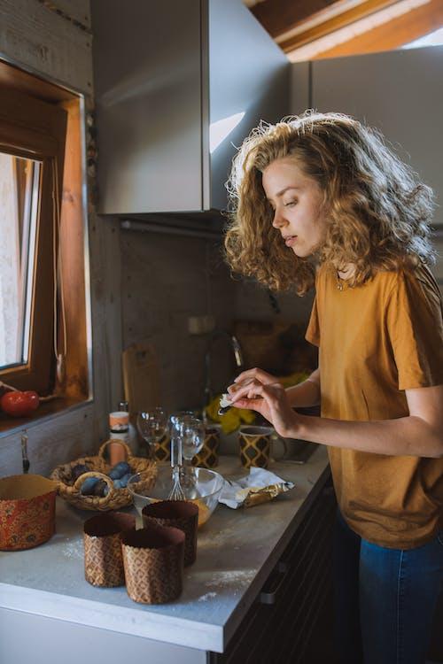 кекс, кудряваядевушка, пасха 的 免費圖庫相片