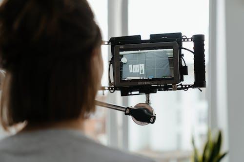 一組工作人員, 創作過程, 動作相機 的 免費圖庫相片