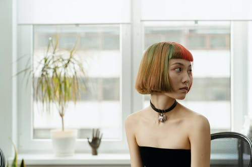 Fotos de stock gratuitas de adentro, asiático, atractivo, cabello pelirrojo