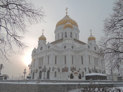 Free stock photo of moscow cathedral, moscow orthodox, moscow temple