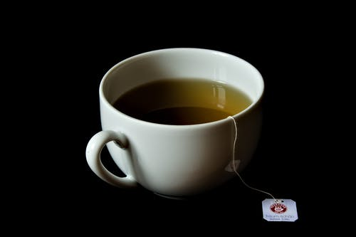 Free stock photo of afternoon tea, black background, still life, tea