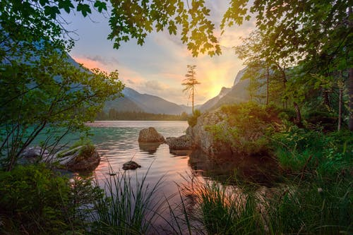 Scenic Photo Of Lake During Dawn