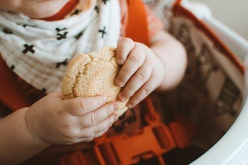 Photo Of Toddler Holding Cookie