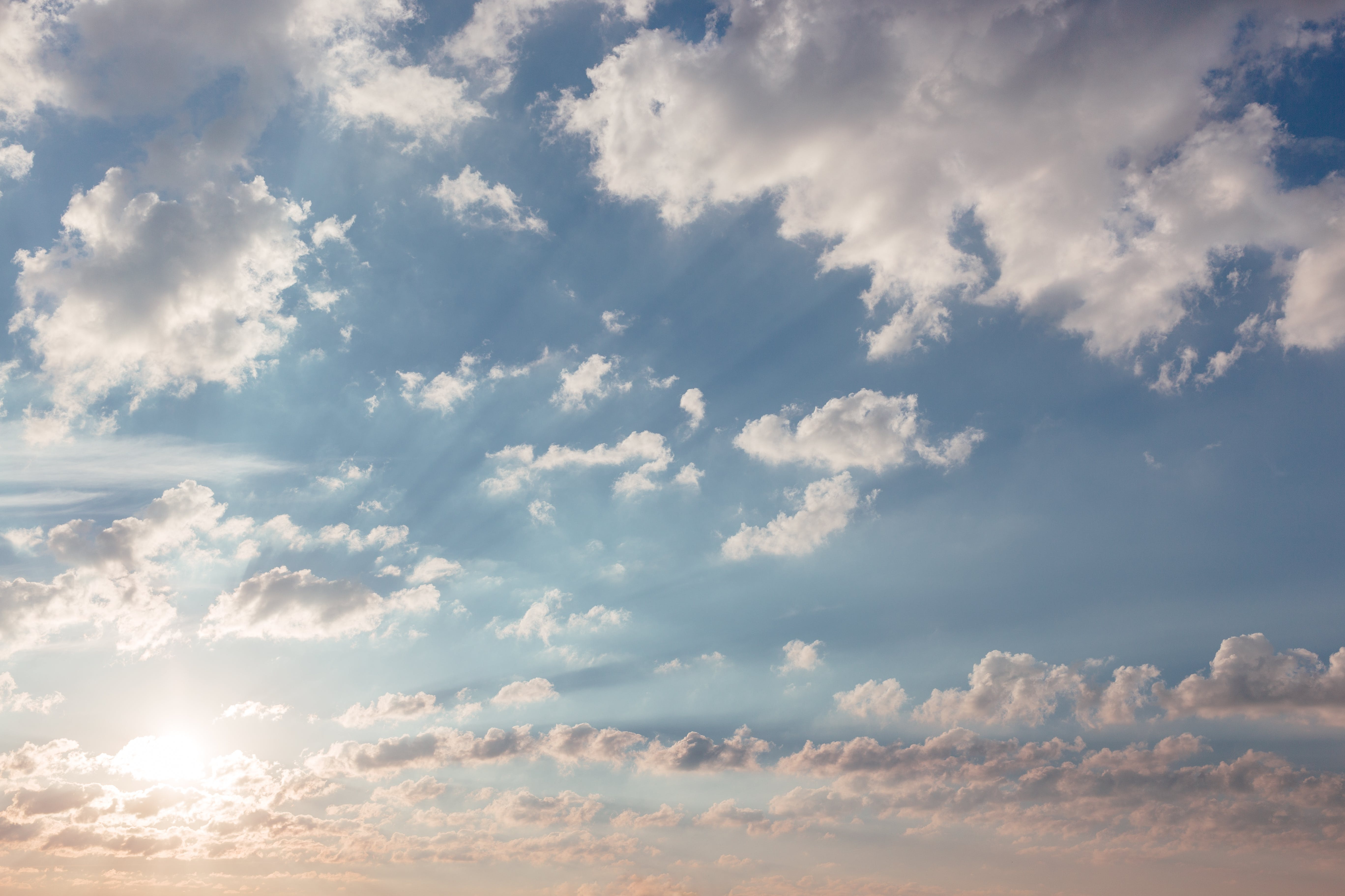 Foto d'estoc gratuïta de ambient, blau, brillant, cel