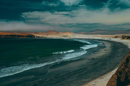 Photo Of Sea Waves Crashing On Shore