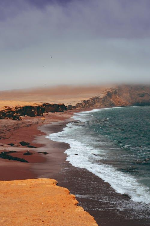 Kostenloses Stock Foto zu dämmerung, draußen, felsenküste