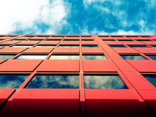 açık hava, bakış açısı, bardak, bina içeren Ücretsiz stok fotoğraf