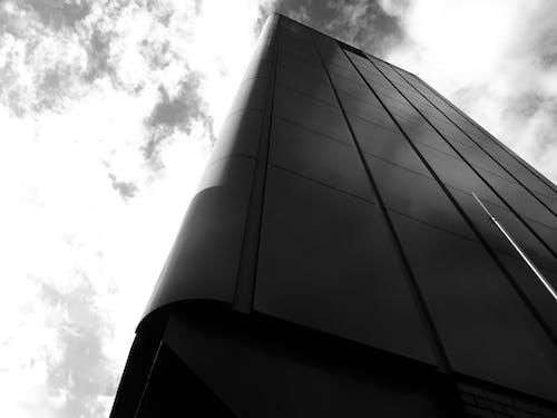 低角度拍攝, 反射, 天空, 建築 的 免費圖庫相片