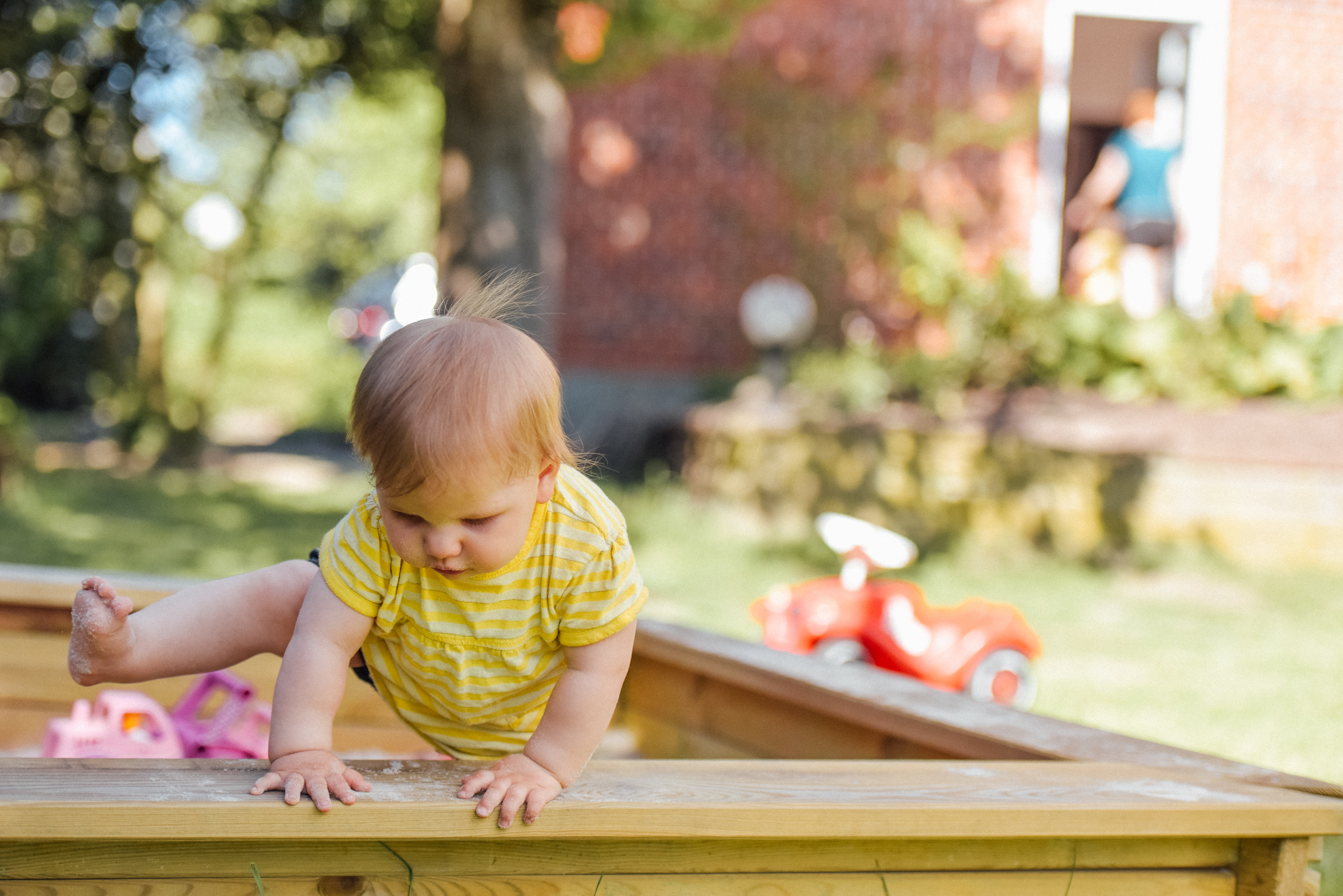 Free stock photo of baby, escape, first steps