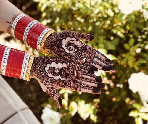 Free stock photo of bangles, bride, colors in india, groom