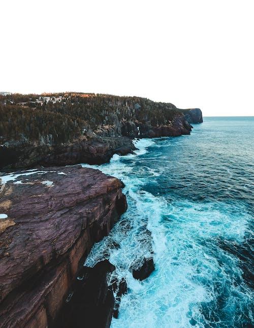 Foto d'estoc gratuïta de a l'aire lliure, a la vora de l'oceà, acomiadar-se, aigua