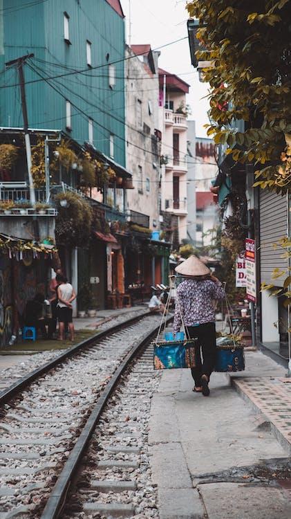 Hanoi, Vietnam, Asia, mercado