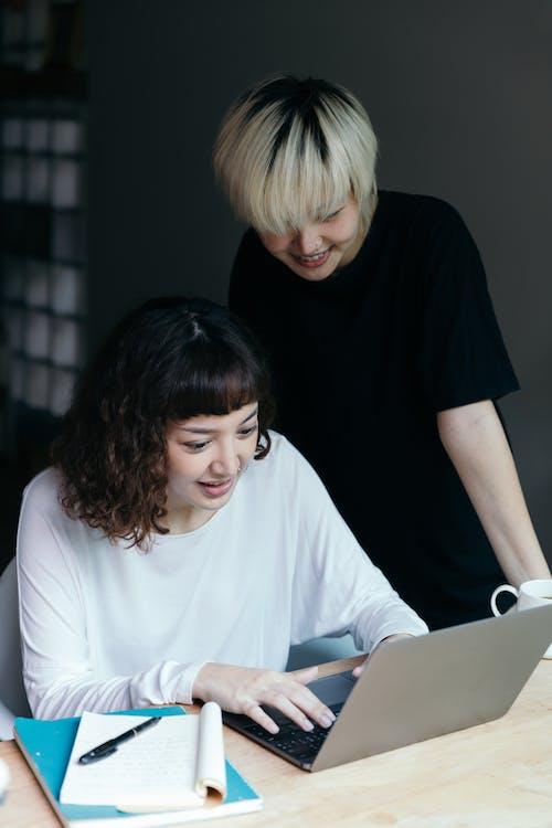 アジア人, インターネット, エスニック, オンラインの無料の写真素材