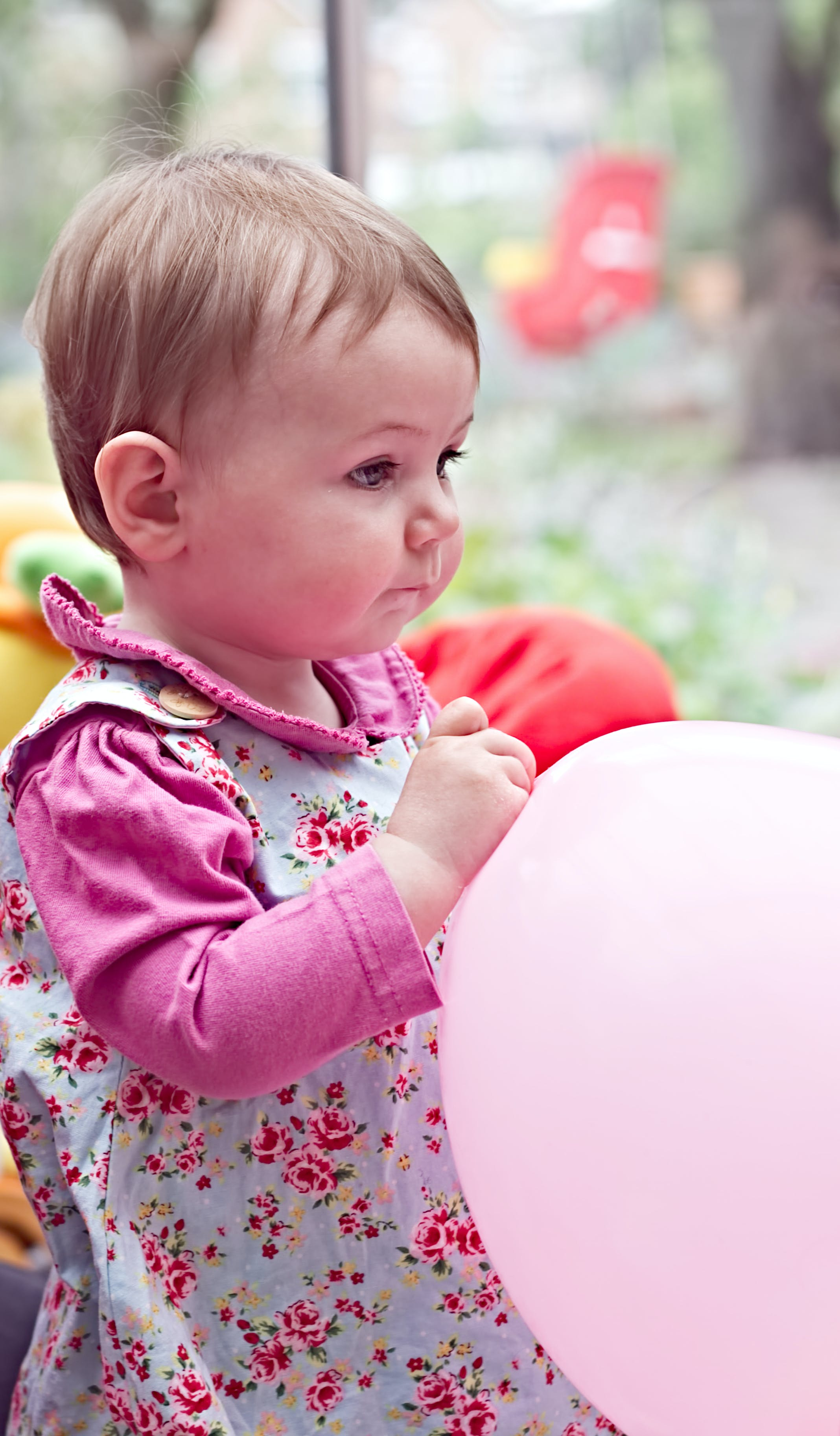 Free stock photo of baloon, pink, thinking