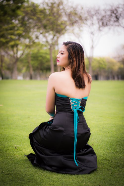 Free stock photo of girl, glamour, gown, parks