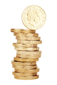 Free stock photo of stack, money, gold, golden