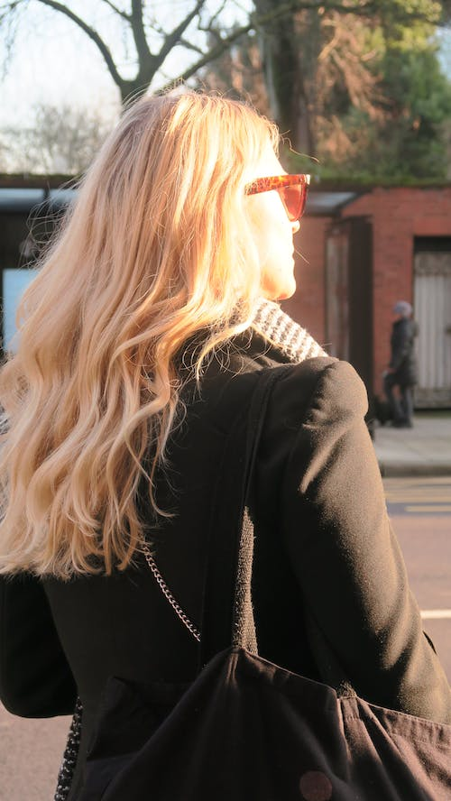 Free stock photo of blond hair, sunglasses, woman
