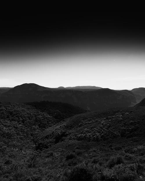 미니멀, 미니멀한, 뷰, 산의 무료 스톡 사진