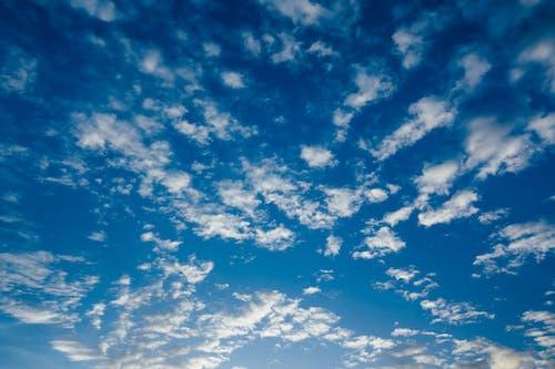 Безкоштовне стокове фото на тему «блакитне небо, море хмар, синій, текстура»