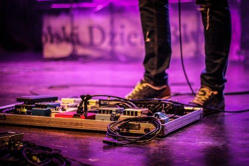 Бесплатное стоковое фото с pedalboard, Анонимный, аудио