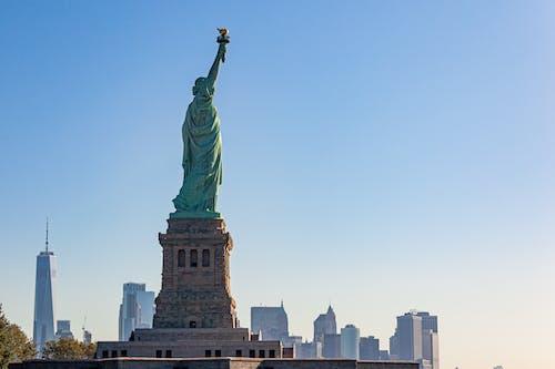 Free stock photo of america, city, city skyline