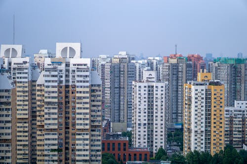 White and Brown High Rise Buildings