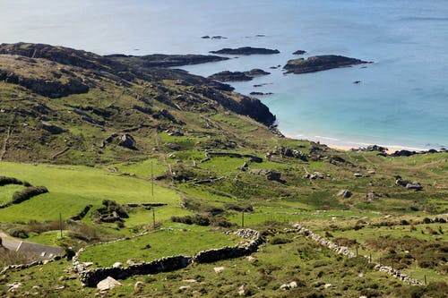Free stock photo of coast line, ring of kerry