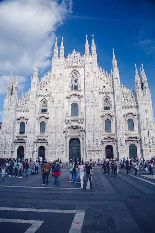 Free stock photo of milan, milan cathedral, milano