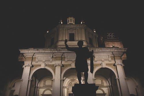 Free stock photo of milan, milano, standing statue