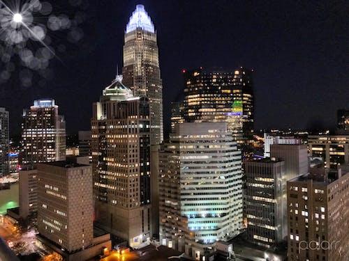Free stock photo of big city, charlotte nc, city background