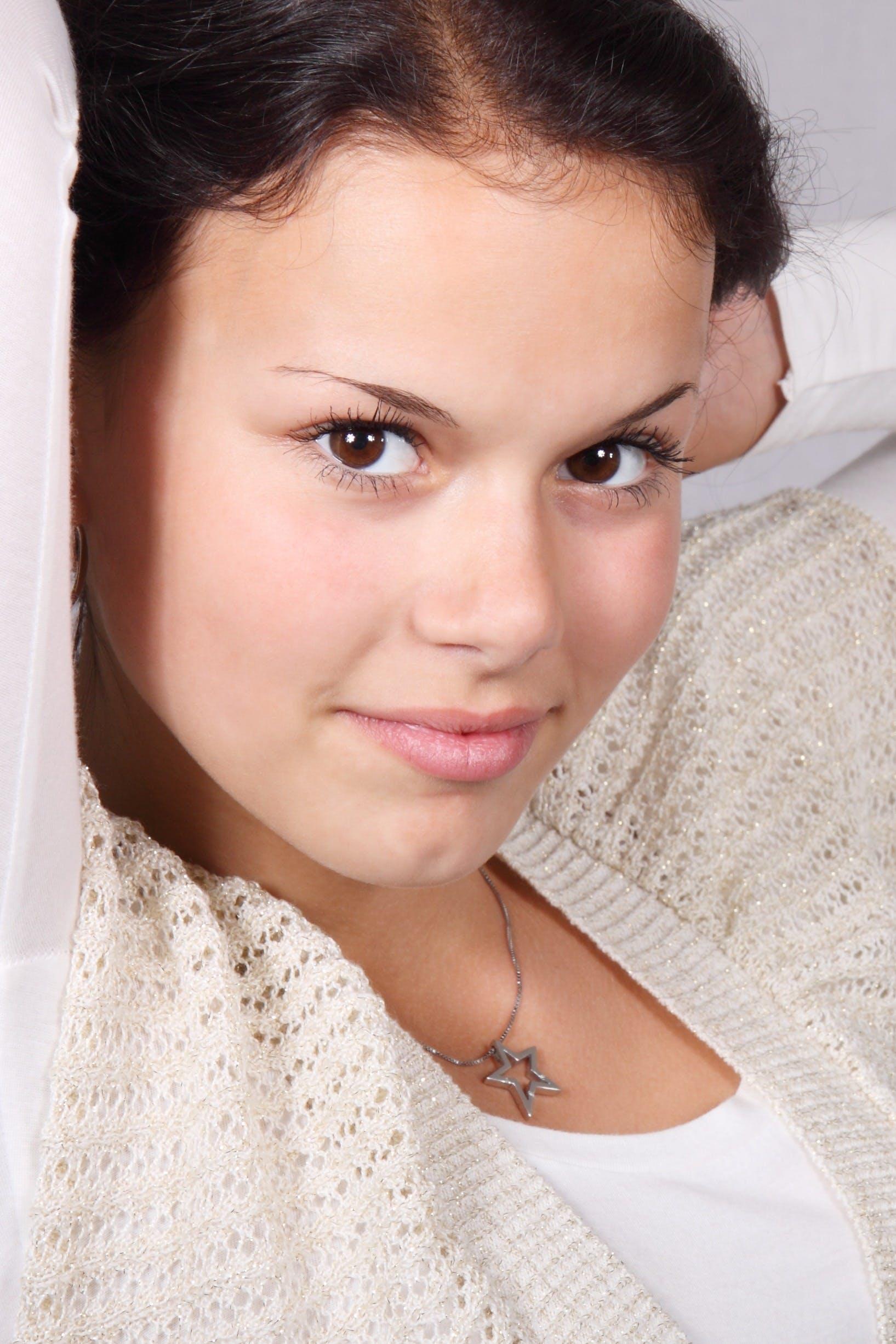 Free stock photo of brunette, face, fashion, female