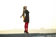 fashion, red, people