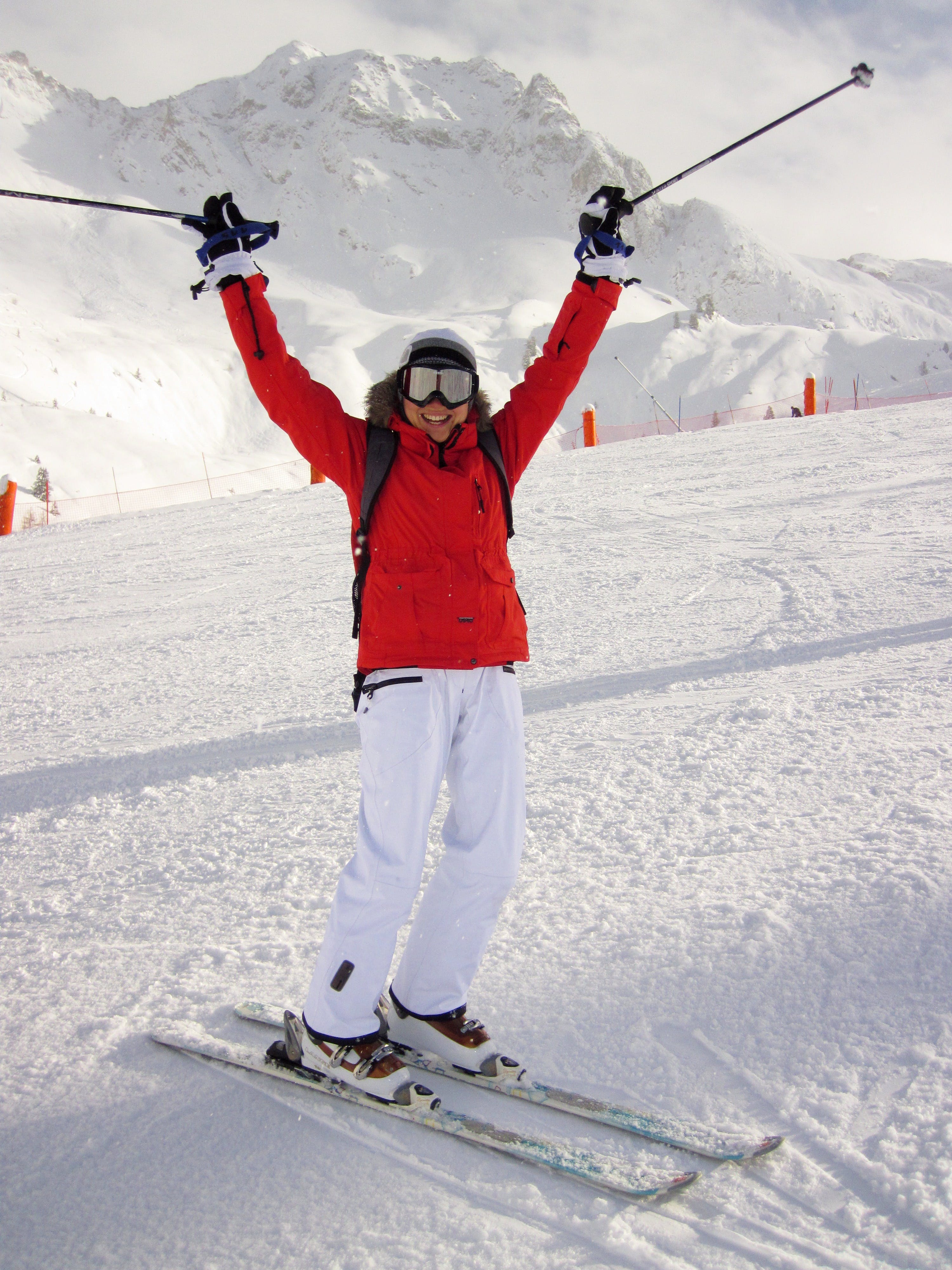 Person Snow Skiing