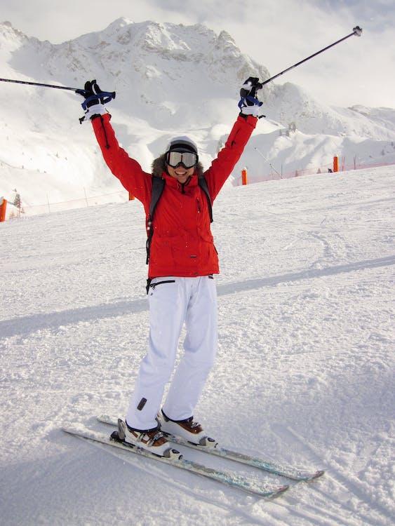 การเล่นสกี, กีฬา, คน