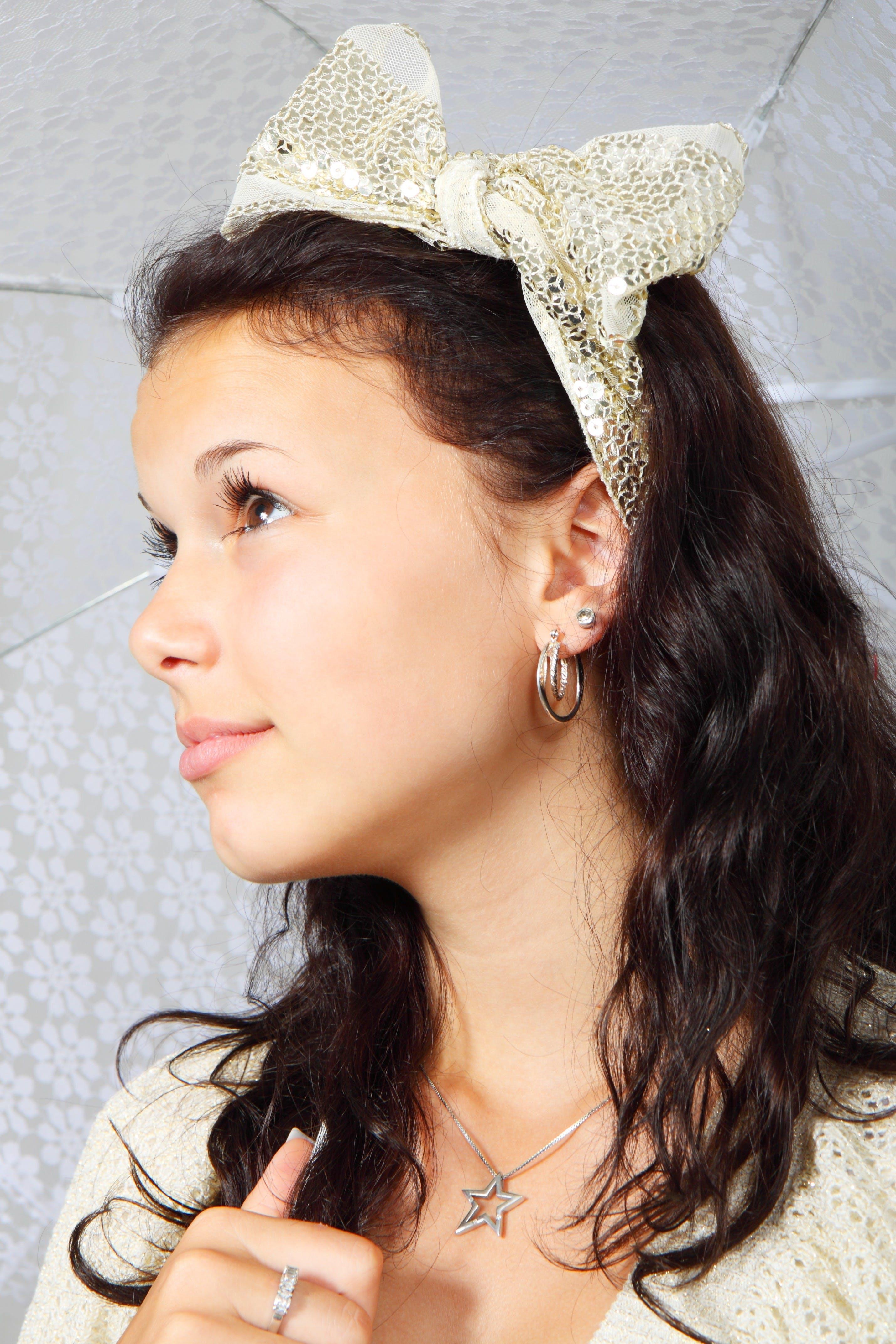 Woman's Star Pendant Necklace