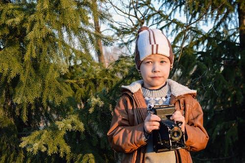 カメラ, かわいらしい, キッド, キャプチャーの無料の写真素材