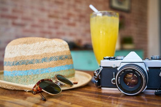 Free stock photo of food, fashion, holiday, sunglasses