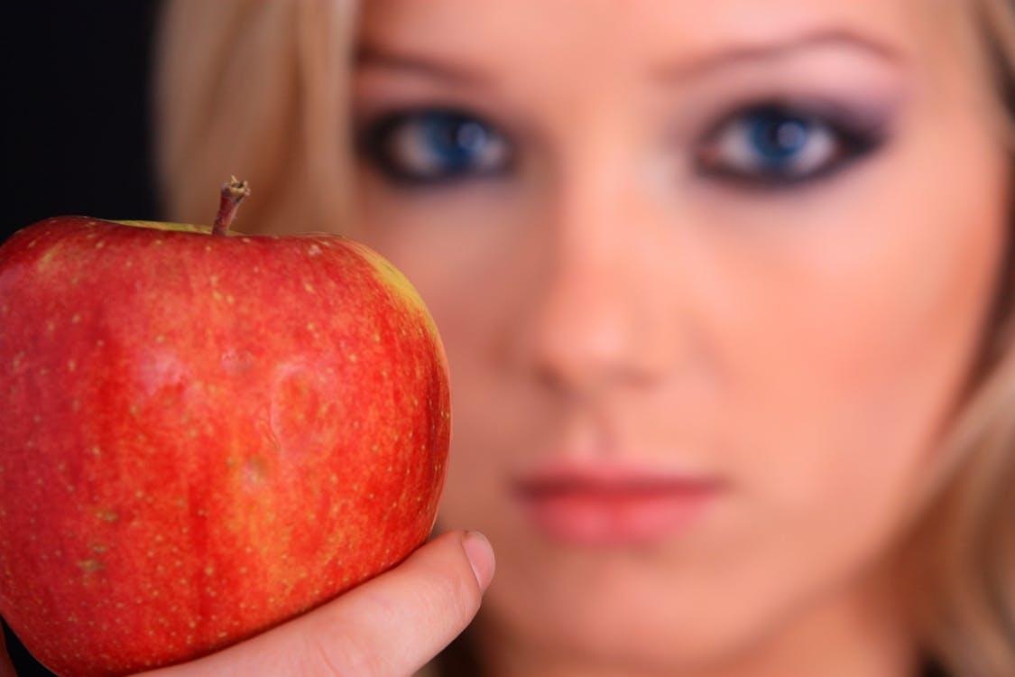 apple, atrakcyjny, deser