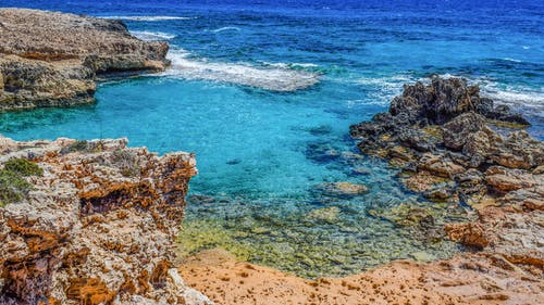 Безкоштовне стокове фото на тему «ayia napa, берег, берег моря, бірюза»