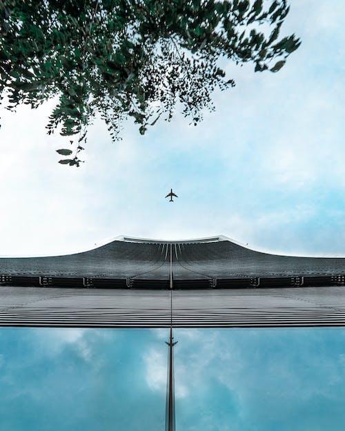 açık, açık hava, bulut, çatı içeren Ücretsiz stok fotoğraf