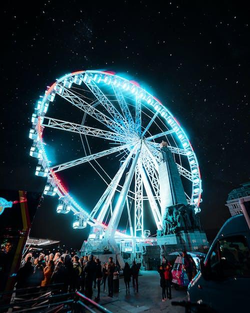 Gratis lagerfoto af astrofotografering, bevægelse, cirkus, Festival